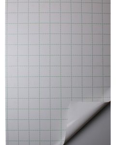 Foamboard plus 5mm Vit 50x70 m. Adhesiv