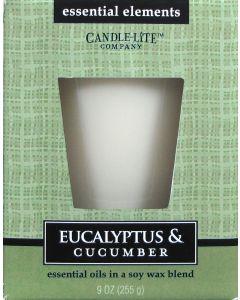 Essential 9 oz/255g Eucalyptus & Cucumber