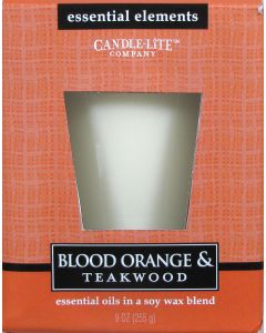 Essential 9 oz/255g Blood Orange & Teakwood