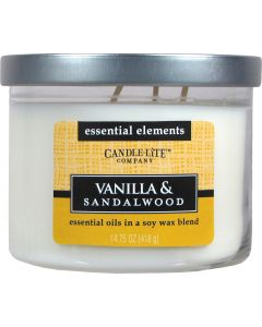 Essential 14,75 oz/418g Vanilla & Sandalwood