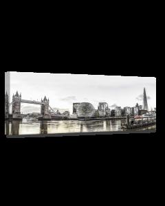 Tavla Canvas 60x150 London