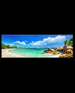 Tavla Canvas 32x100 Beach