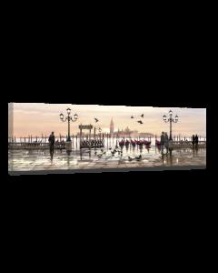 Tavla Canvas 32x100 Venice