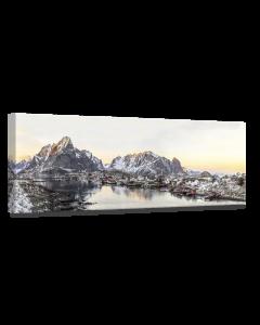 Tavla Canvas 60x150 Norway