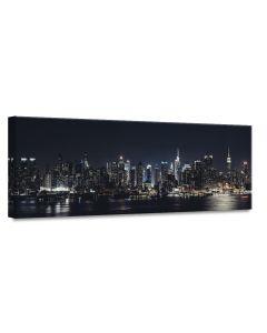 Tavla Canvas 60x150 Manhattan by Night