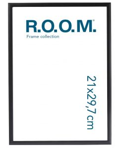 Metallram Svart 21x29,7 A4 Room