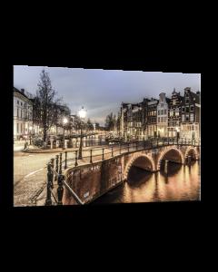 Tavla Canvas 75x100 Amsterdam