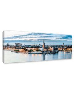 Tavla Canvas 60x150 Stockholm Gamla Stan