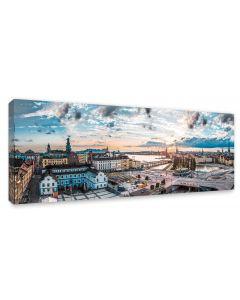 Tavla Canvas 60x150 Stockholm, Slussen