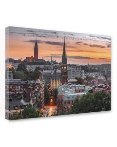Tavla Canvas 75x100 Göteborg Oscar Fredriks Kyrka