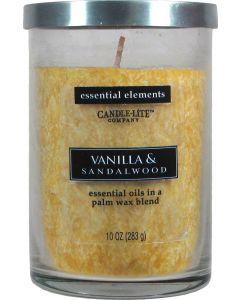 Essential 10 oz/283g Vanilla & Sandalwood