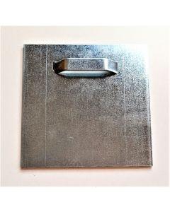 Estancia multihänge i metall med Adhesiv