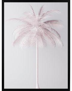 Poster 50x70 Pink Palmtree (planpackad)