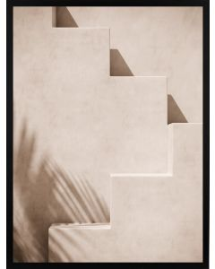 Poster 50x70 Beige Staircase