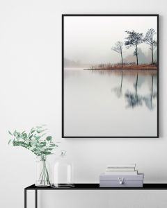 Poster 30x40 Nature Lake (planpackad)