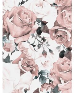 Poster 30x40 Pink Roses (Planpackad)