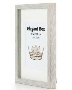 Elegant Box Grå
