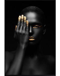 Poster 50x70 Gold finger (planpackad)