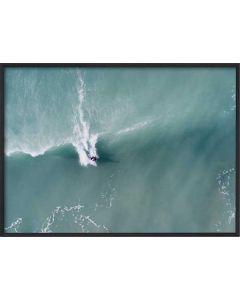 Poster 50x70 Green Surf (Planpackad)