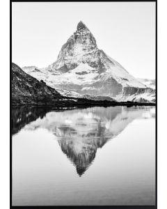 Tavla med ram 50x70 N25 Matterhorn