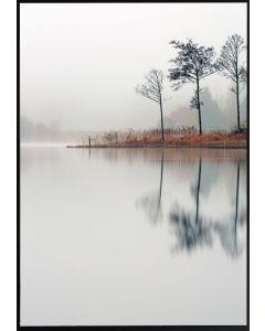 Poster 50x70 Nature Lake (planpackad)