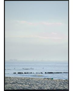 Tavla med ram 50x70 N51 Horisont hav