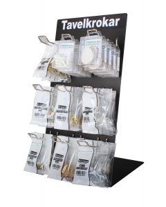 Estancia Displayställ Tavelkrokar Svart Metall