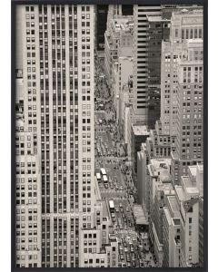 Poster 50x70 S13 Skyskrapor (planpackad)