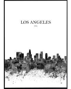 Poster 50x70 S3 Los Angeles (planpackad)