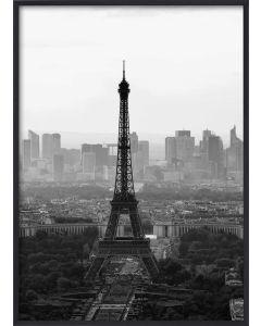 Poster 50x70 B&W Paris (planpackad)