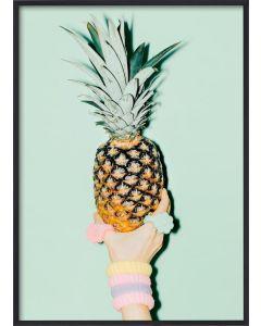 Poster 50x70 Pastel Pineapple 1 (planpackad)